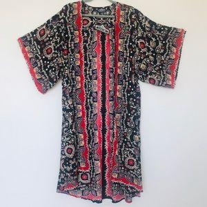 100% Ryon Maxi Kimono / Duster Angie